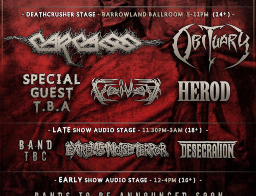 Deathcrusher uk tour 2015 adds second date