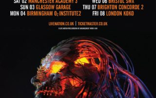 Sikth UK Tour December 2017