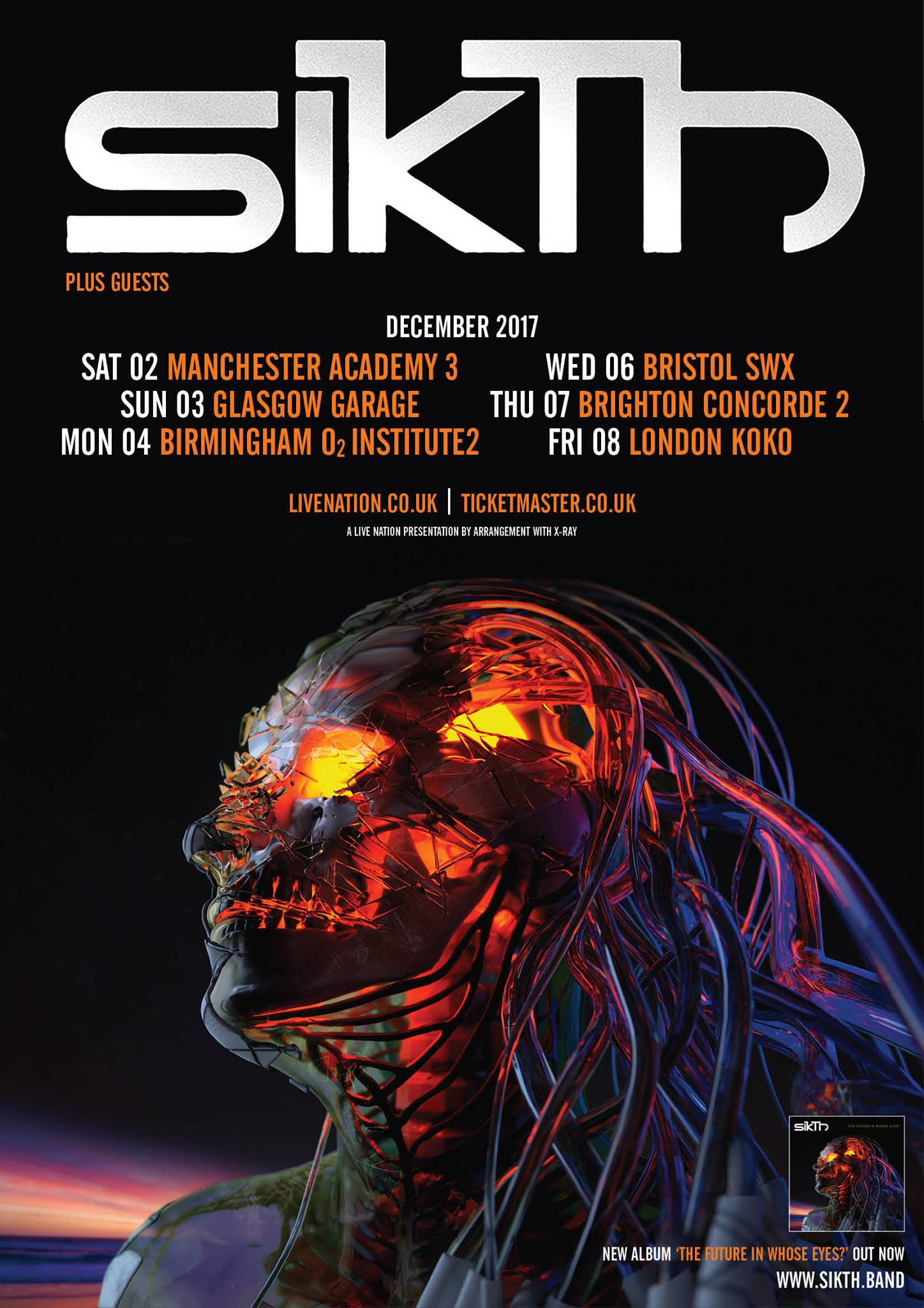 Sikth UK Tour December 2017
