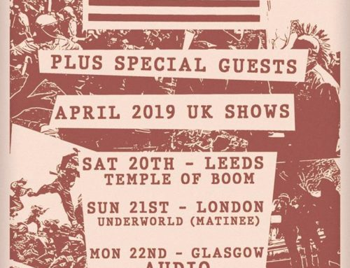 Infest announce UK shows for April 2019 in Leeds, London and Glasgow