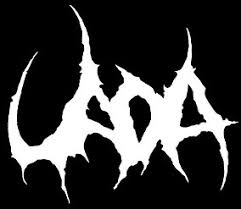 Uada black metal band logo